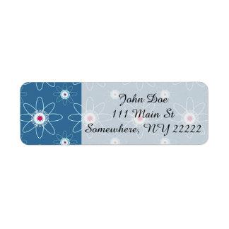 Patriotic Atom Label