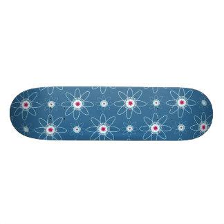 Patriotic Atom Custom Skateboard