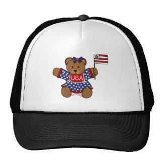 Patriotic Baby Bear Trucker Hat
