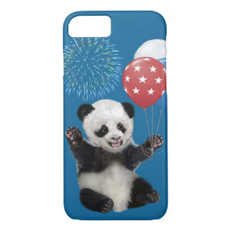 PATRIOTIC BABY PANDA iPhone 8/7 CASE