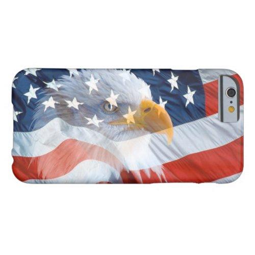 Patriotic Bald Eagle American Flag Phone Case