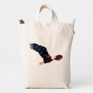 Patriotic Bald Eagle Duck Bag