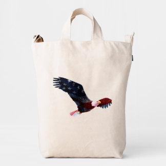 Patriotic Bald Eagle Duck Bag