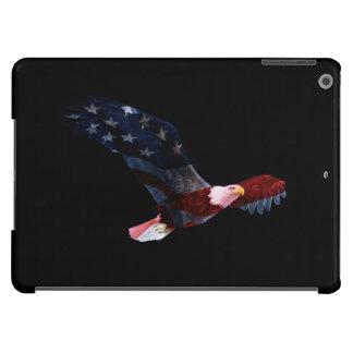 Patriotic Bald Eagle Flag iPad Air Case