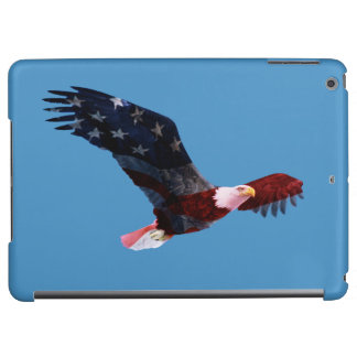 Patriotic Bald Eagle Flag iPad Air Covers