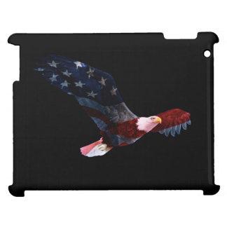 Patriotic Bald Eagle Flag iPad Case