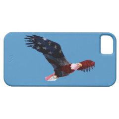 Patriotic Bald Eagle Flag iPhone 5 Case iPhone 5 Cases