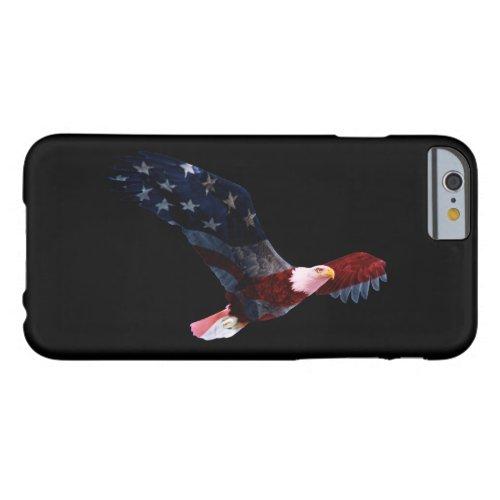 Patriotic Bald Eagle Flag iPhone 6 Case Phone Case