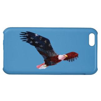 Patriotic Bald Eagle iPhone 5C Case