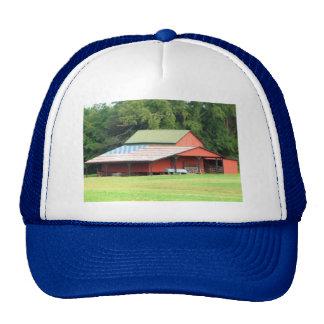 Patriotic Ball Cap, Royal Blue Trucker Hat