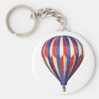 Patriotic balloon keychain