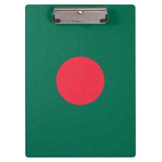 Patriotic Bangladeshi Flag Clipboard