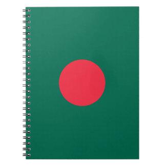 Patriotic Bangladeshi Flag Notebook