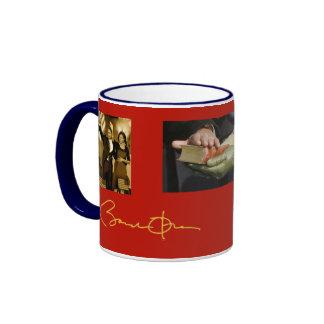 Patriotic Barack Obama Ringer Coffee Mug
