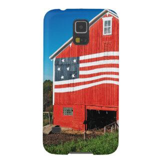 Patriotic Barn Galaxy S5 Cover