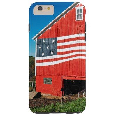 Patriotic Barn Tough iPhone 6 Plus Case