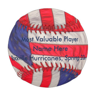 Patriotic Baseball American Flags, MVP Award