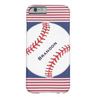 Patriotic Baseball Design iPhone 6 Case