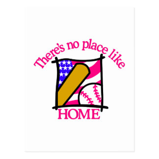 Patriotic Baseball Postcard