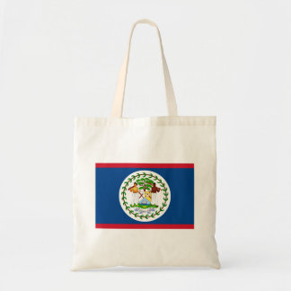 Patriotic Belizean Flag Tote Bag