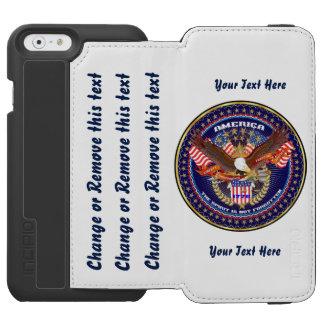 Patriotic Best Bet Go Direct to Customize Incipio Watson™ iPhone 6 Wallet Case