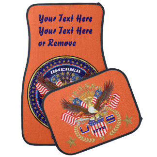 Patriotic Best Holiday Election Gift Car Mat