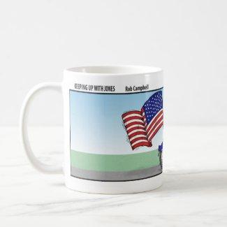 Patriotic Biker Mug mug