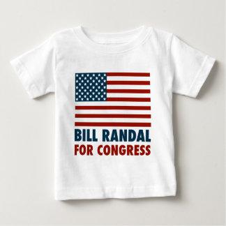 Patriotic Bill Randall for Congress Baby T-Shirt