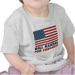 Patriotic Bill Randall for Congress Shirts