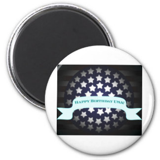 Patriotic Birthday Salute Magnets
