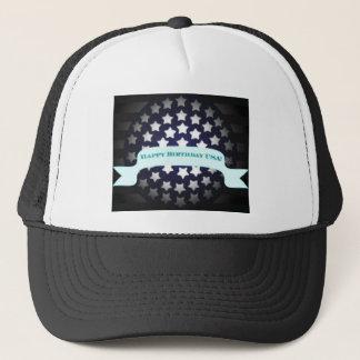 Patriotic Birthday Salute Trucker Hat