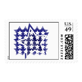 Patriotic Blue Postage