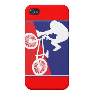 Patriotic BMX Biker iPhone 4/4S Case