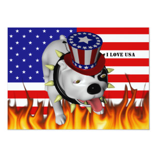 Patriotic BoBo 2 Card