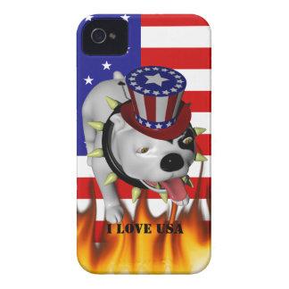 Patriotic BoBo 2 iPhone 4 Case