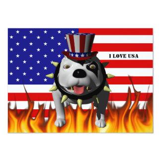 Patriotic BoBo 3 Card