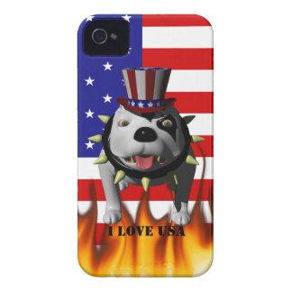 Patriotic BoBo 3 iPhone 4 Cover