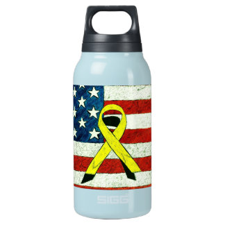 Patriotic Bottle 10 Oz Insulated SIGG Thermos Water Bottle