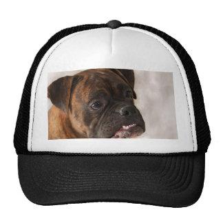 Patriotic Boxer Dog cap Trucker Hat
