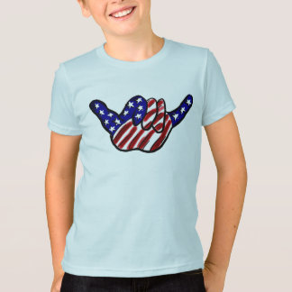 Patriotic boys hang loose shirt