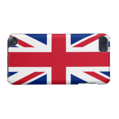 Patriotic British Union Jack Flag Ipod Touch 5g Ipod Touch (5th Generation) Case at Zazzle