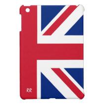 Patriotic British Union Jack iPad Mini Case at Zazzle