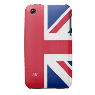 Patriotic British Union Jack iPhone 3 CaseMate iPhone 3 Case-Mate Cases