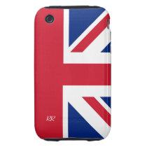 Patriotic British Union Jack iPhone 3 Tough Case at Zazzle