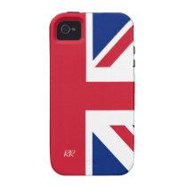 Patriotic British Union Jack iPhone 4/4S iPhone 4 Cover at  Zazzle