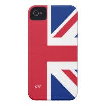 Patriotic British Union Jack iPhone 4 CaseMate iPhone 4 Case at  Zazzle