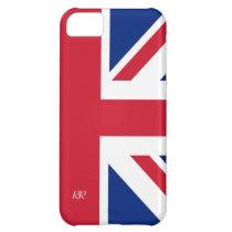 Patriotic British Union Jack iPhone 5 Case at Zazzle