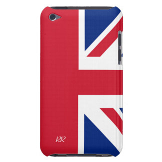 Patriotic British Union Jack iPod Touch 4G Case Barely There iPod Covers