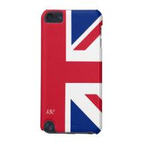 Patriotic British Union Jack iPod Touch 5G Case at Zazzle