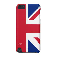Patriotic British Union Jack Ipod Touch 5g Case at Zazzle